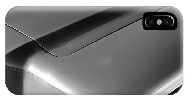 Lincoln Continental iPhone Case - 1967 Lincoln Continental Hood Ornament by Jill Reger