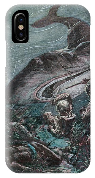 '20,000 Lieues Sous Les Mers' [20 000 Phone Case by Mary Evans Picture Library