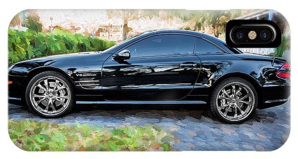 2006 Mercedes Benz Sl55 V8 Kompressor Coupe Painted  IPhone Case