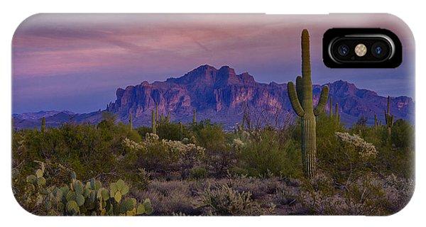 A Beautiful Desert Evening  IPhone Case