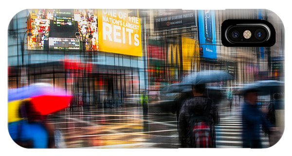 A Rainy Day In New York IPhone Case
