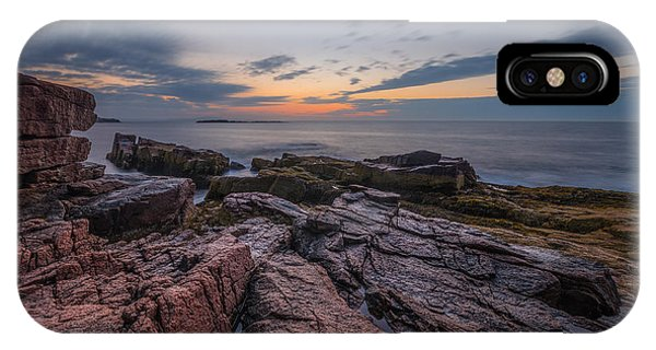 Michael iPhone Case - Acadia Rocky Sunrise by Michael Ver Sprill