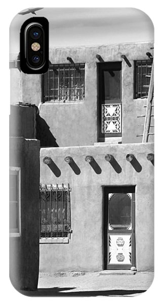 Adobe iPhone Case - Acoma Pueblo Adobe Homes by Mike McGlothlen