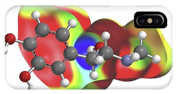 Adrenaline Molecule IPhone Case