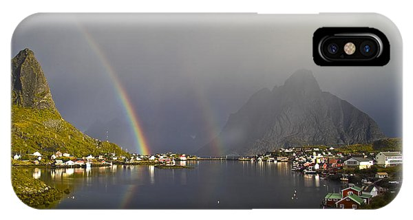 After The Rain In Reine IPhone Case