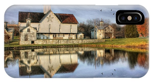 Afternoon At The Star Barn IPhone Case