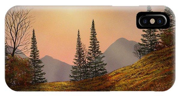 Alpine Sunset IPhone Case