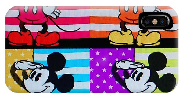 American Mickey IPhone Case