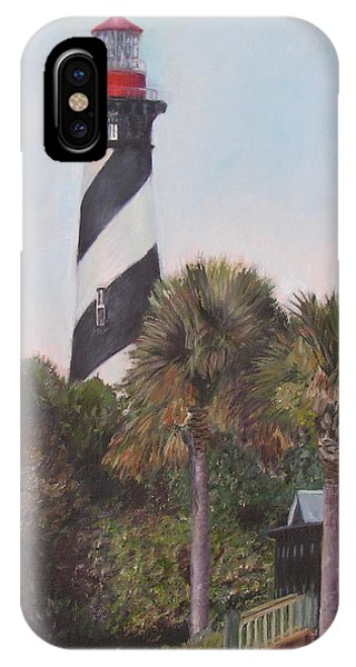 Anastasia Lighthouse IPhone Case