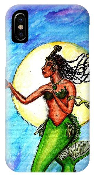 Arania Queen Of The Black Pearl IPhone Case
