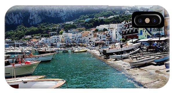 Arrival To Capri  IPhone Case