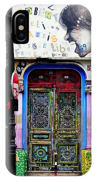 Artistic Door In Paris France IPhone Case