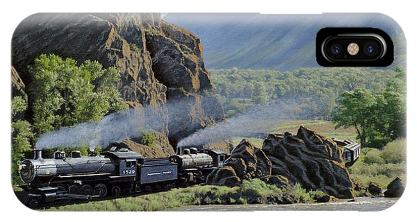 Yellowstone iPhone Case - At Point Of Rocks-bound For Yellowstone by Paul Krapf