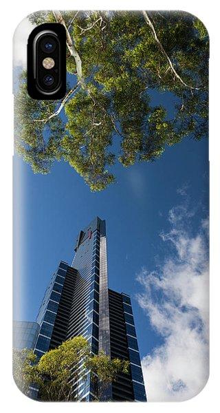 Australia, Victoria, Melbourne Phone Case by Walter Bibikow