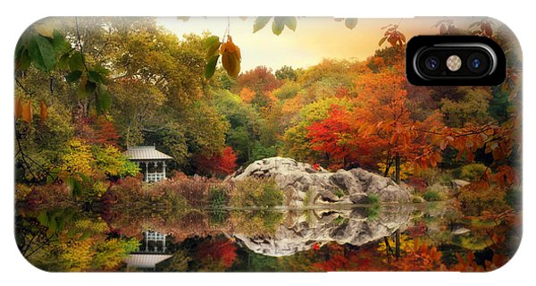 Autumn At Hernshead IPhone Case