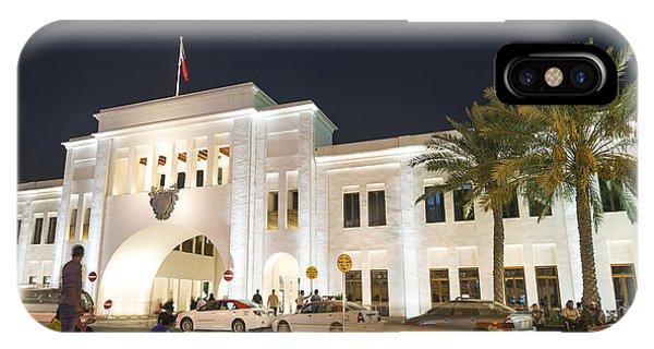 Bab Al Bahrain Manama Bahrain IPhone Case