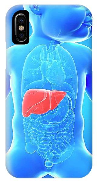 Baby's Liver Phone Case by Sebastian Kaulitzki