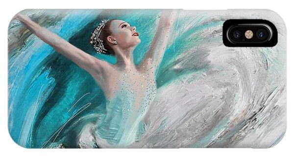 Corporate Art Task Force iPhone Case - Ballerina  by Corporate Art Task Force