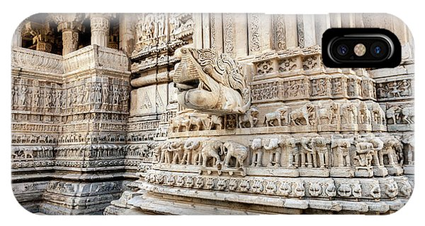 Bas Relief Jagdish Temple Udaipur IPhone Case