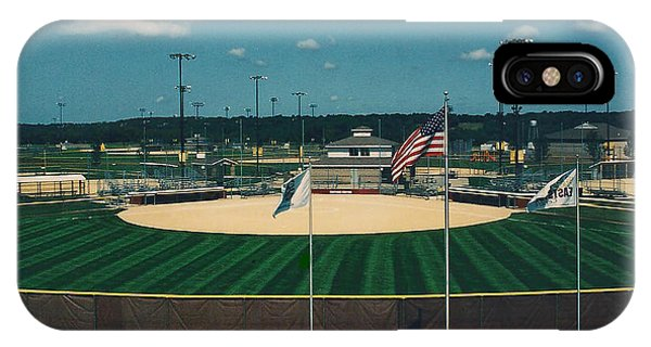 Baseball Diamond IPhone Case