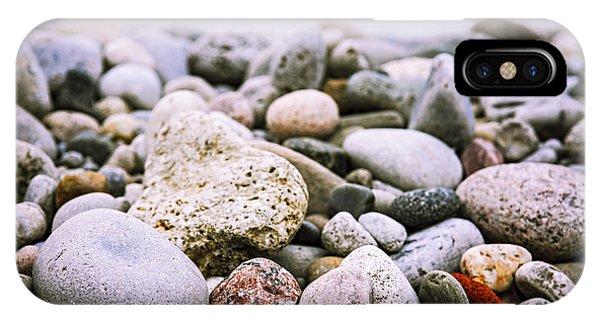 Beach Pebbles IPhone Case