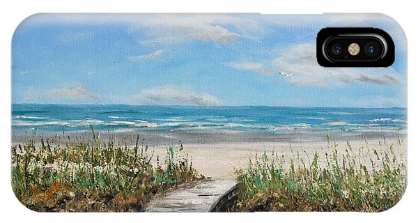 Beach Walkway IPhone Case