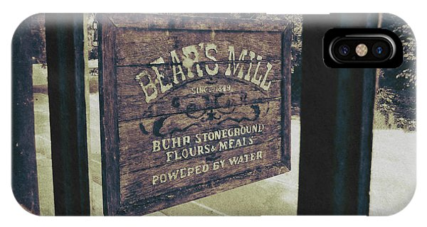 Bear's Mill IPhone Case