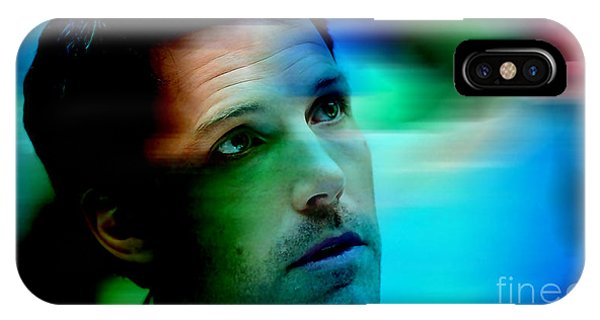 Ben Affleck iPhone Case - Ben Affleck by Marvin Blaine