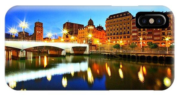 Bilbao 8 IPhone Case