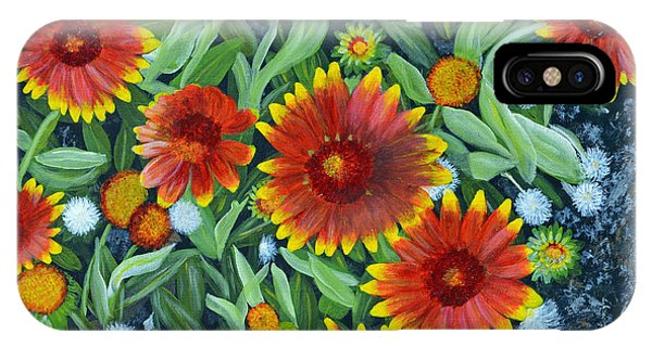 Blanket Flowers IPhone Case