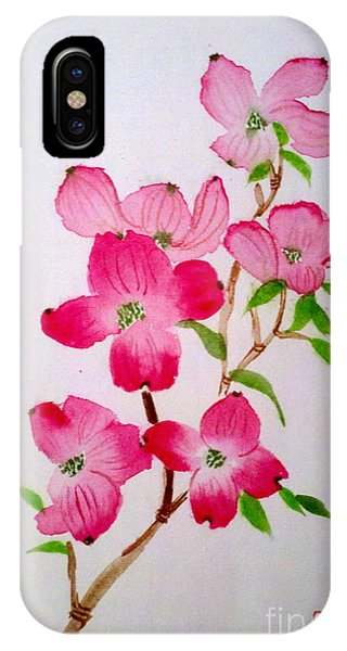 Blooming Dogwood IPhone Case