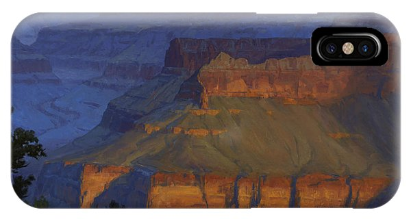Grand Canyon iPhone Case - Blue Morning by Cody DeLong