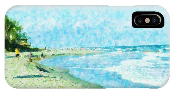 Boca Beach Play IPhone Case
