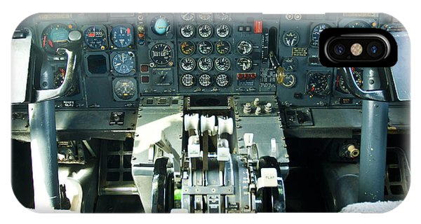 B727 Cockpit IPhone Case
