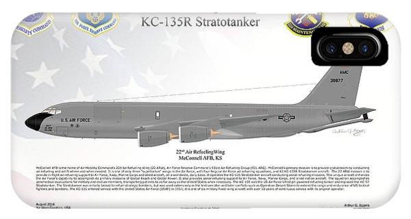 Boeing Kc-135r Stratotanker Phone Case by Arthur Eggers