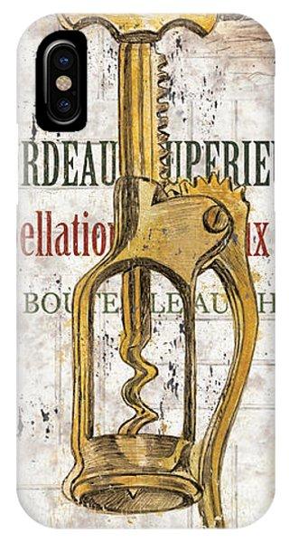 Vino iPhone Case - Bordeaux Blanc 2 by Debbie DeWitt