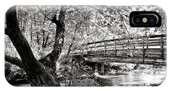 Bridge At Ellison Park IPhone Case