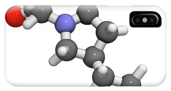 Brivaracetam Anticonvulsant Drug Molecule Phone Case by Molekuul