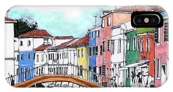 iPhone Case - Burano Venice Italy by Paul Guyer