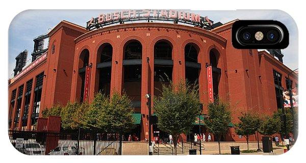 Busch Stadium - St. Louis Cardinals IPhone Case