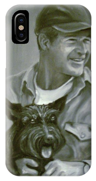 Bush And Barney IPhone Case