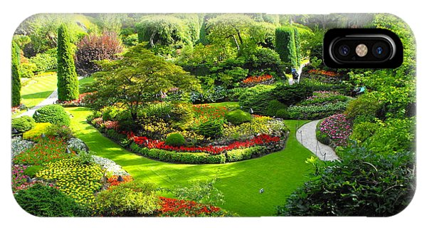Butchart Gardens IPhone Case