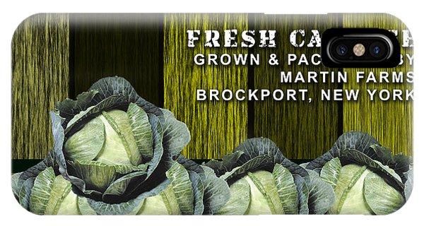Cabbage Farm IPhone Case