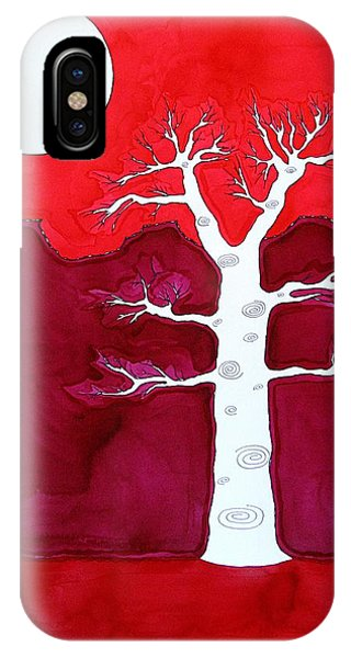 Canyon Tree Original Painting IPhone Case