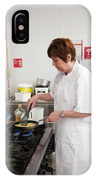 Assisted Living iPhone Case - Care Home Kitchen by John Cole/science Photo Library