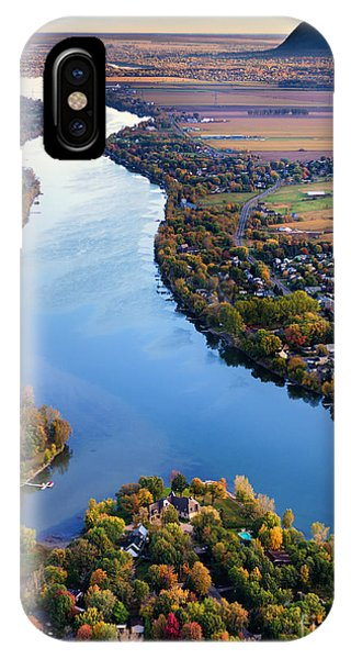 Carignan Quebec Canada IPhone Case