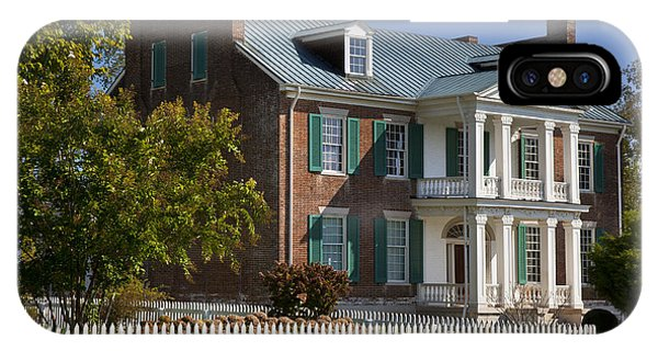 IPhone Case featuring the photograph Carnton Plantation by Brian Jannsen