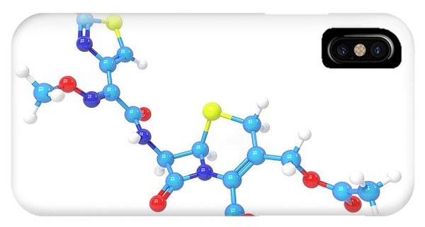 Cefotaxime Molecule Phone Case by Indigo Molecular Images