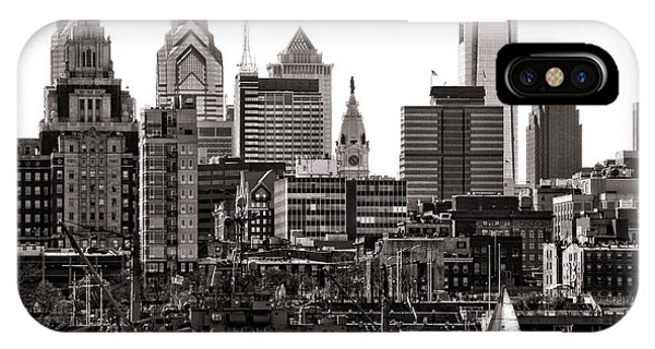 Center City Philadelphia IPhone Case