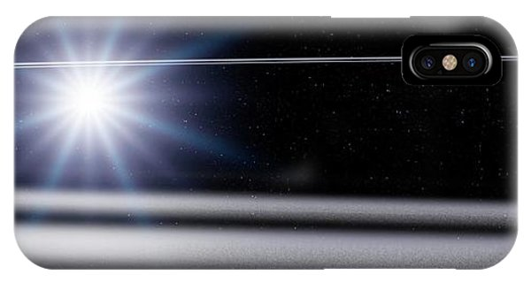 Centaur iPhone Case - Chariklo Minor Planet And Rings by Detlev Van Ravenswaay